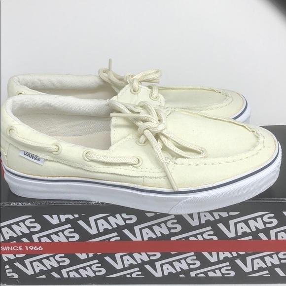 vans zapato white